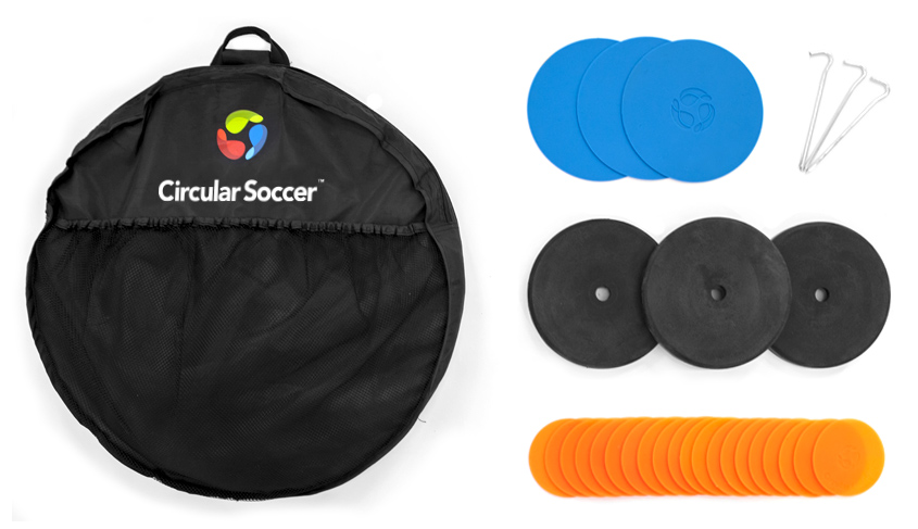 The TriGoal™ by Circular Soccer